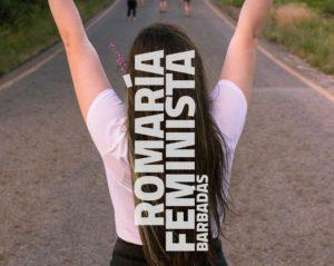Cartel romaría feminista
