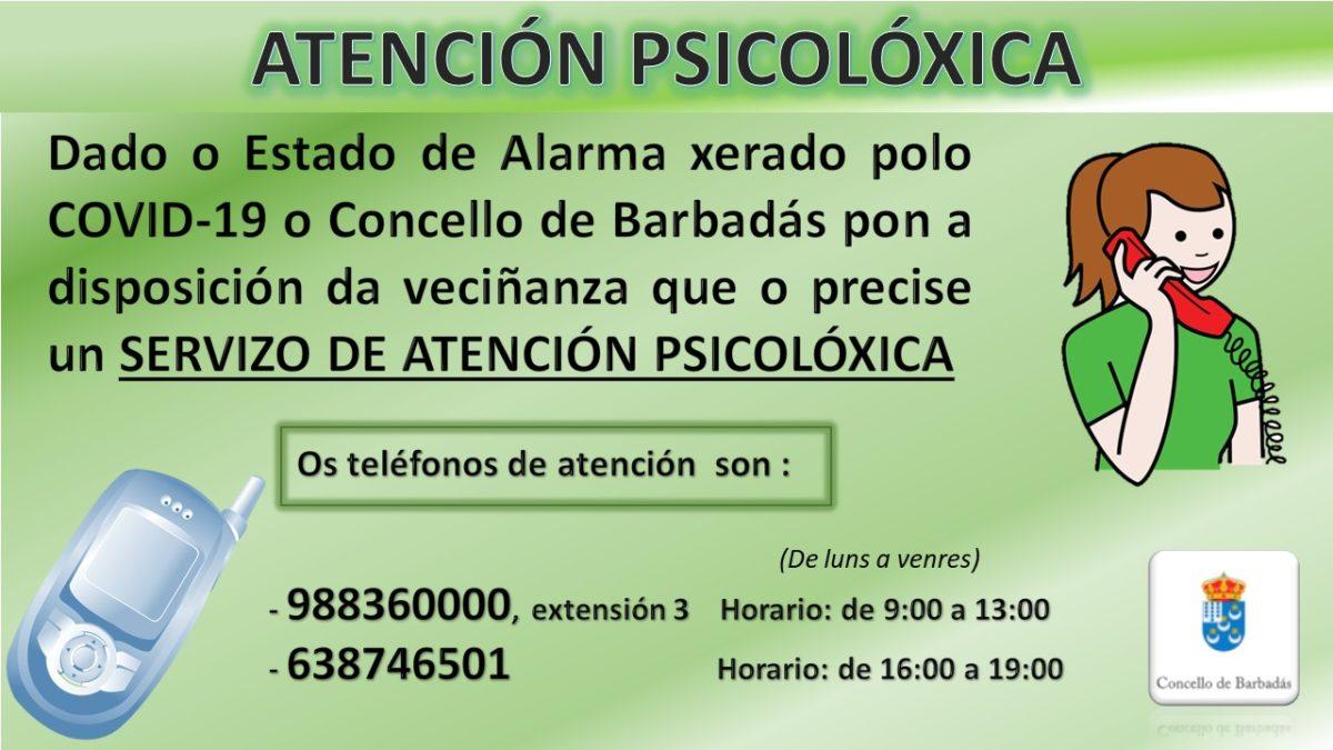Atención psicolóxica