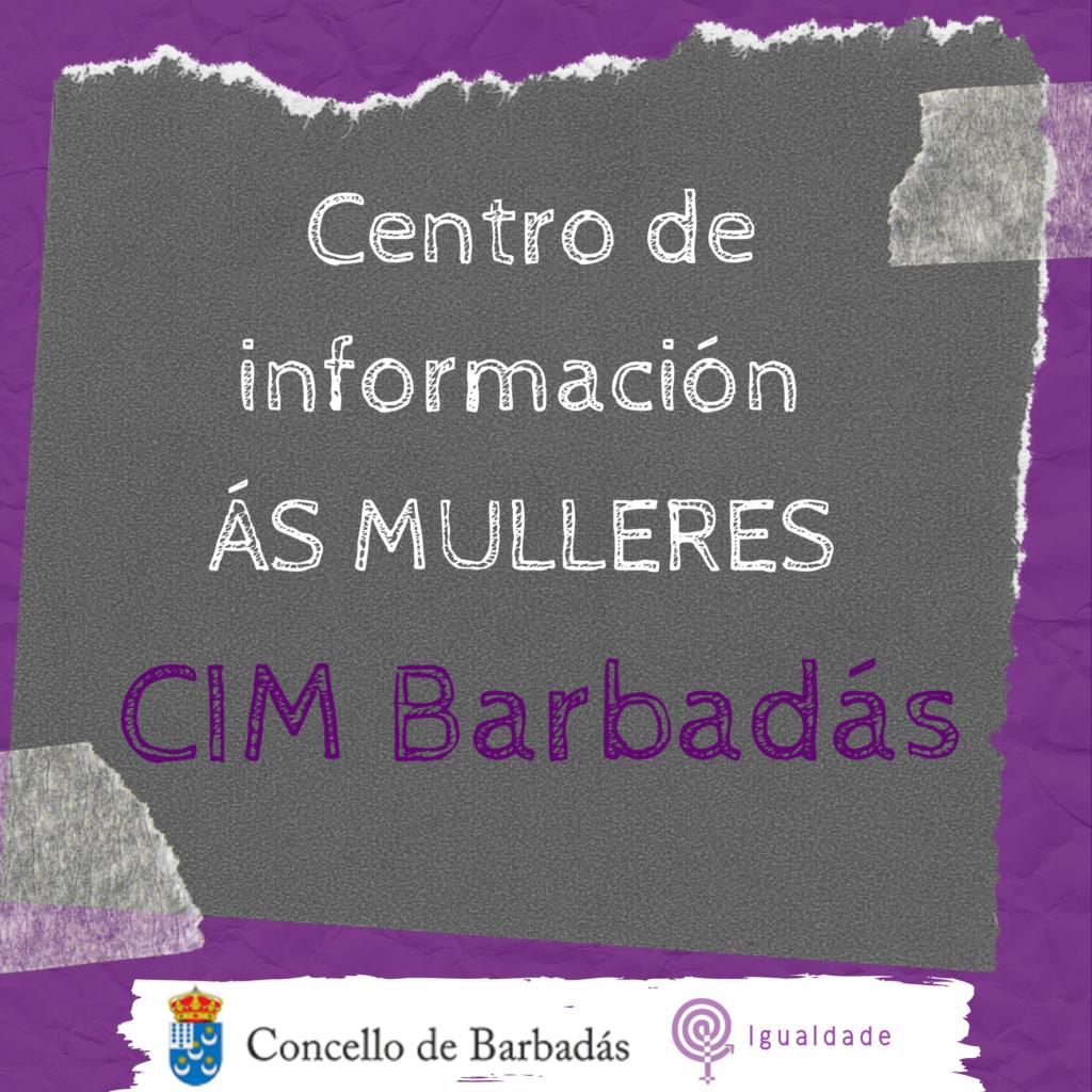 Díptico CIM Concello de Barbadás