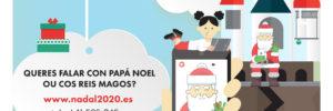 Video chamada dos Reis Magos e Papa Noel