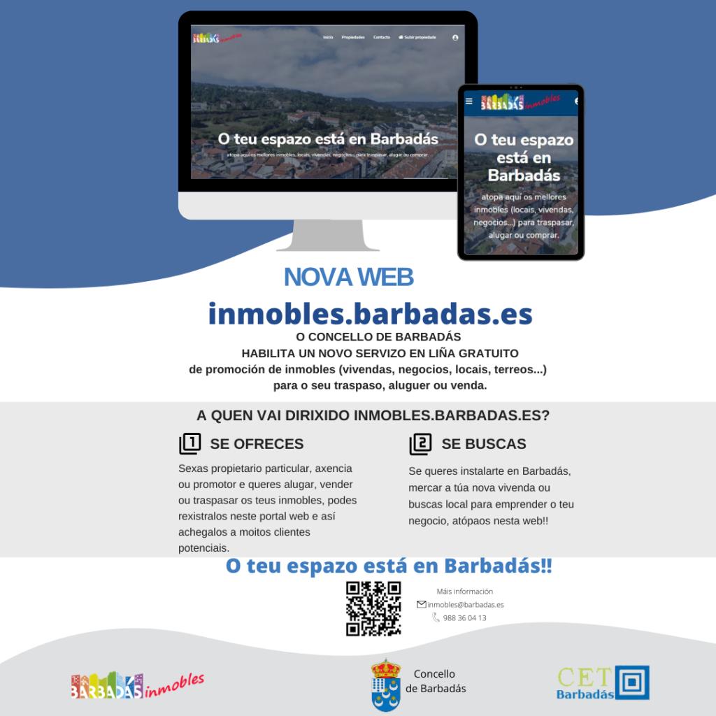 Nova web inmobles.barbadas.es