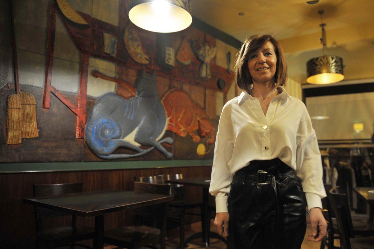 Merche Dorado- Cafe - Moda Kibú Foto: Rosa Veiga