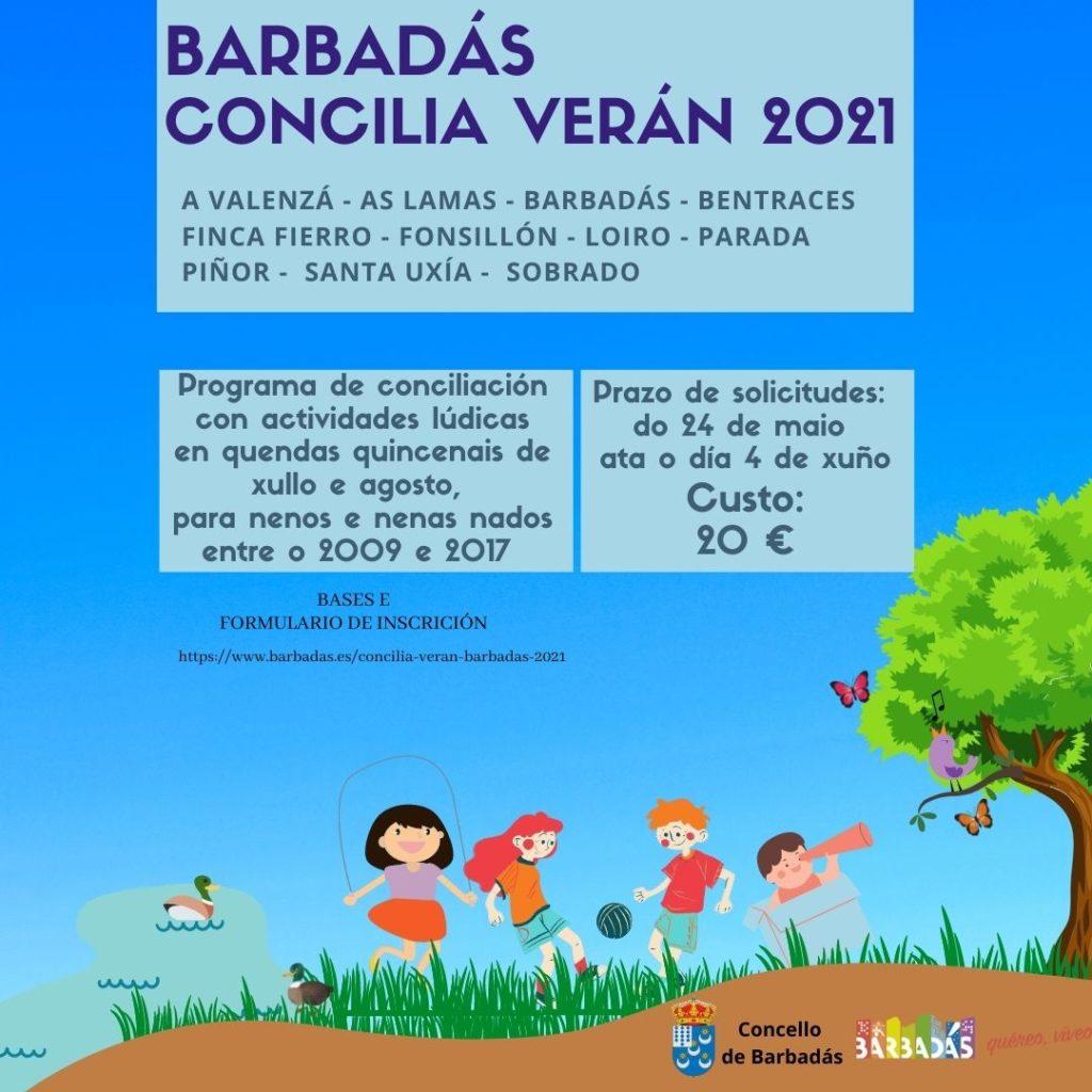 Barbadás concilia verán 2021