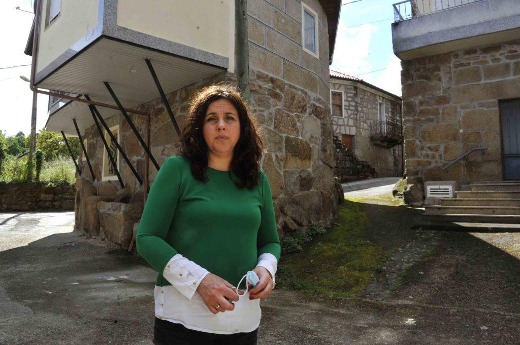 Paula da Asociación Veciñal Porta da Cadea - Sobrado do Bispo