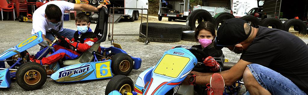 Enzo e Alex - Karting
