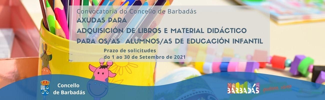 Axudas educación infantil