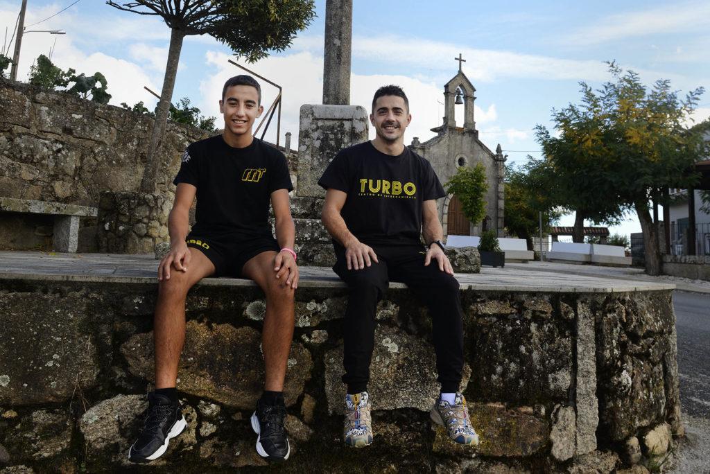 BOXEO/KICKBOXING Manu Pérez e Manu Míguez. A Valenzá 29/08/21. Foto Rosa Veiga
